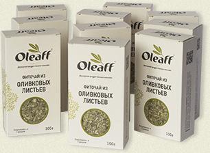 Упаковка оливковых листьев Oleaff